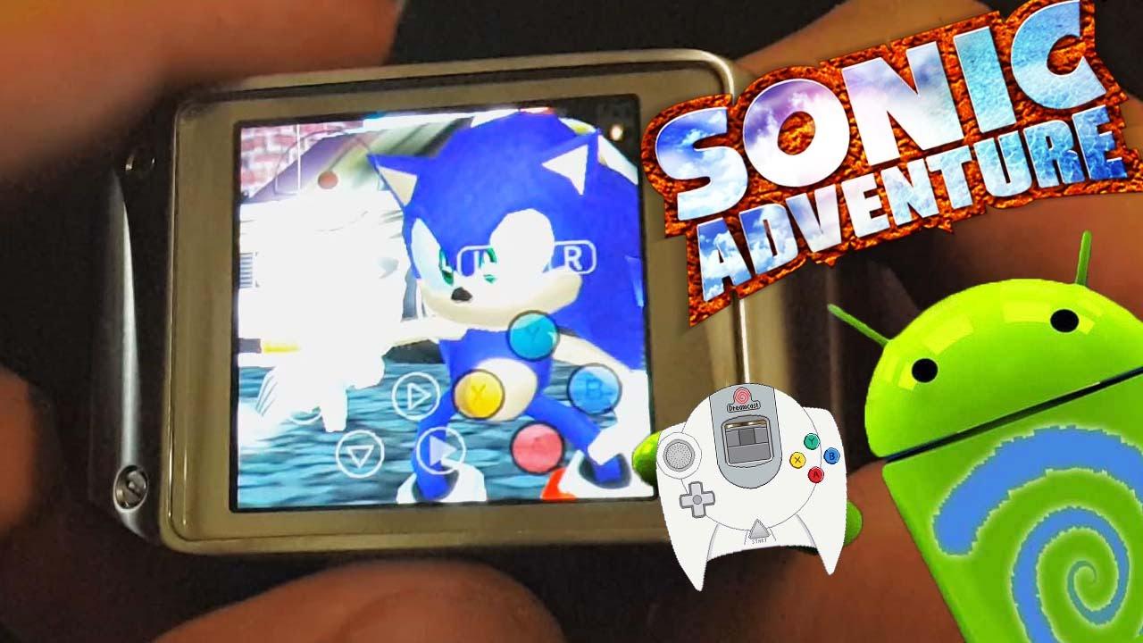 dreamcast-relogio-android Colocaram o emulador do Dreamcast em um Relógio Galaxy Gear ... e funcionou!