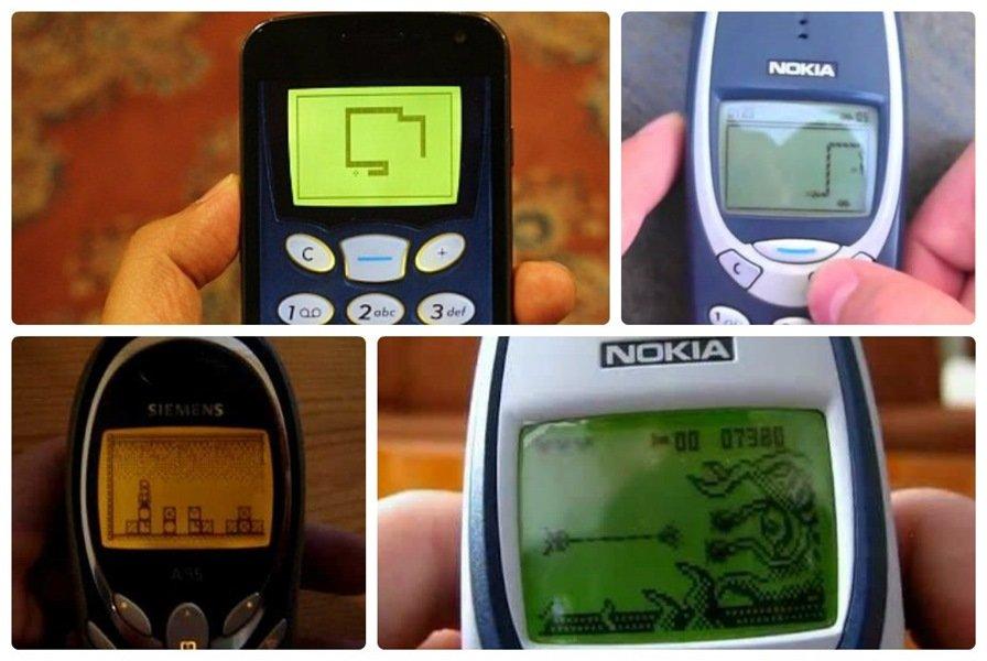 jogando-jogos-antigos-nokia-celular-android-snake-space-impact Jogos de celulares antigos no Android: Baixe Space Impact, Snake e Stack Attack