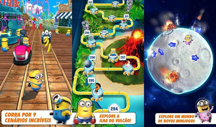 minion-rush-android-ios Dia das crianças: 10 Jogos Grátis para Crianças de Todas as Idades (Android e iOS)