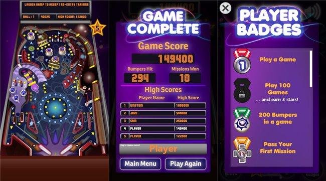 pinball-windows-xp 10 Jogos Incríveis para Nokia Lumia 630