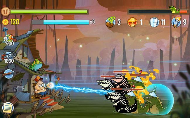 swamp-attack-android 25 Jogos para Android Offline Para Você Baixar Grátis #2