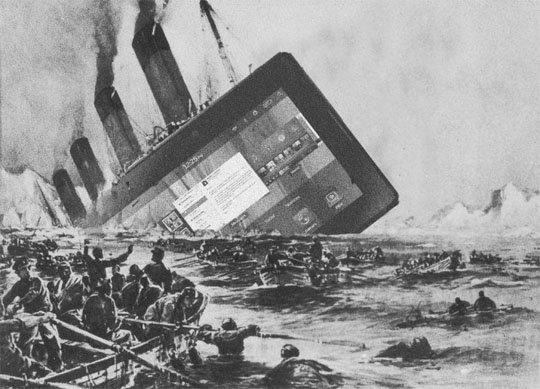 tablets-Fail Venda de tablets e PCs desabam e consumidores se voltam para a novidade: os Phablets!