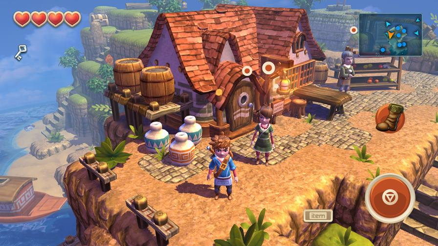 Oceanhorn_iPhone6Plus_1-z Oceanhorn: Monster of Uncharted Seas finalmente será lançado para Android