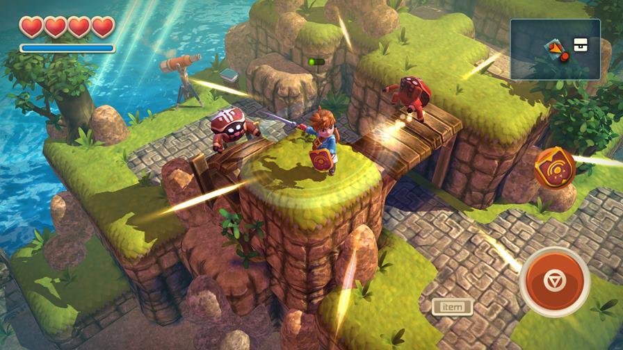 Oceanhorn_iPhone6Plus_3-z 50 Jogos para Android compatíveis com Controle e Gamepad Bluetooth