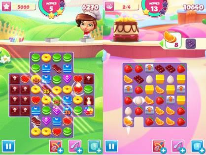 "Pastry-Paradise-3 Pastry Paradise: Novo Jogo da Gameloft Segue o ""Estilo"" Candy Crush Saga"