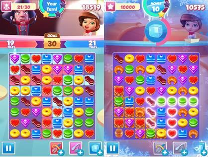 "Pastry-Paradise-4 Pastry Paradise: Novo Jogo da Gameloft Segue o ""Estilo"" Candy Crush Saga"