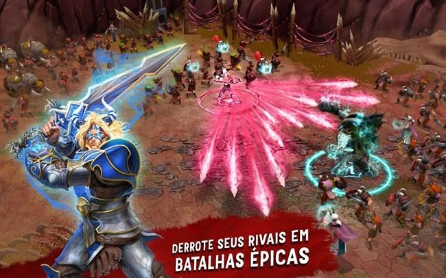 battle-of-heroes-android Melhores Jogos para Android Grátis - Novembro de 2014