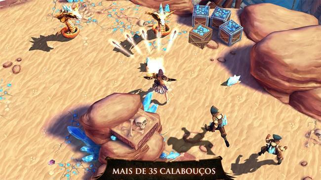 dungeon-hunter-4-expansao 10 Jogos Incríveis para Asus Zenfone 5