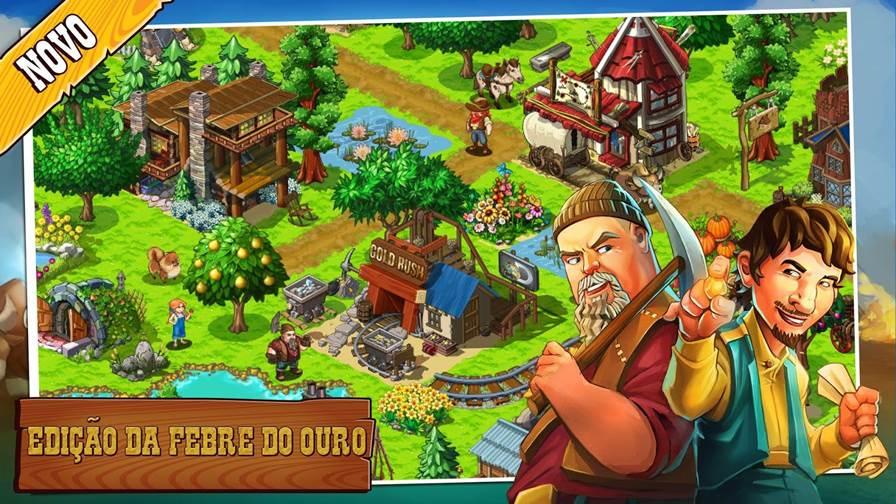 """febre-do-ouro-o-jogo-android Atualização de """"The Oregon Trail"""" traz protagonistas do programa """"Febre de Ouro"""" do Discovery"""