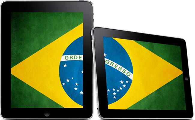 ipad_brasil Tablets Android correspondem a 96% do mercado brasileiro