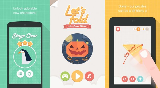 lets-fold-origami-android Melhores Jogos para Android da Semana #30 - 2014