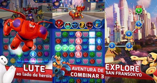 operacao-big-hero Melhores Jogos para Android da Semana #31 - 2014