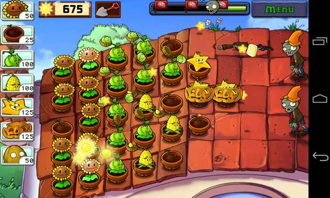plants-vs-zombies-1-android Melhores Jogos Offline de Zumbis para Android e iPhone