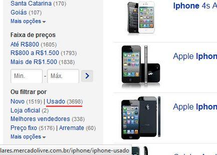 venda-usados-iphone-mercado-livre Windows Phone em queda e Android cada vez mais no topo