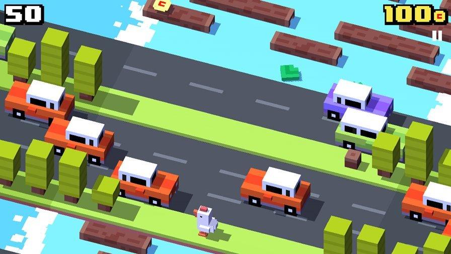 CrossyRoad Crossy Road: Jogo da galinha chega ao Android