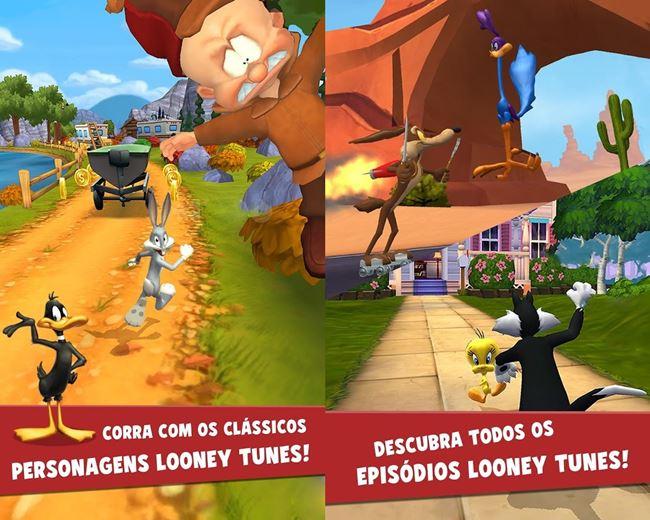 Looney-tunes-dash 20 Melhores Jogos para Motorola Moto E (2014)