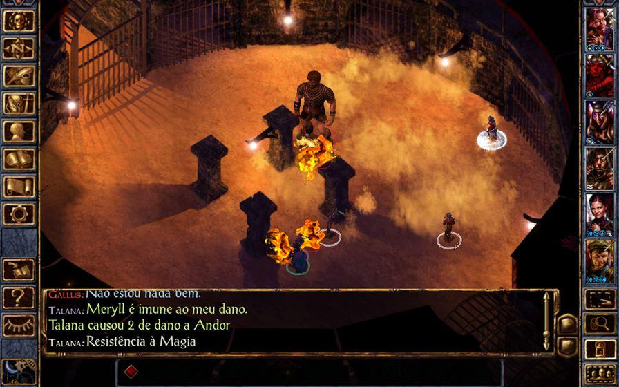 baldur-gate-android 30 Melhores Jogos RPG OFFLINE para Android e iOS