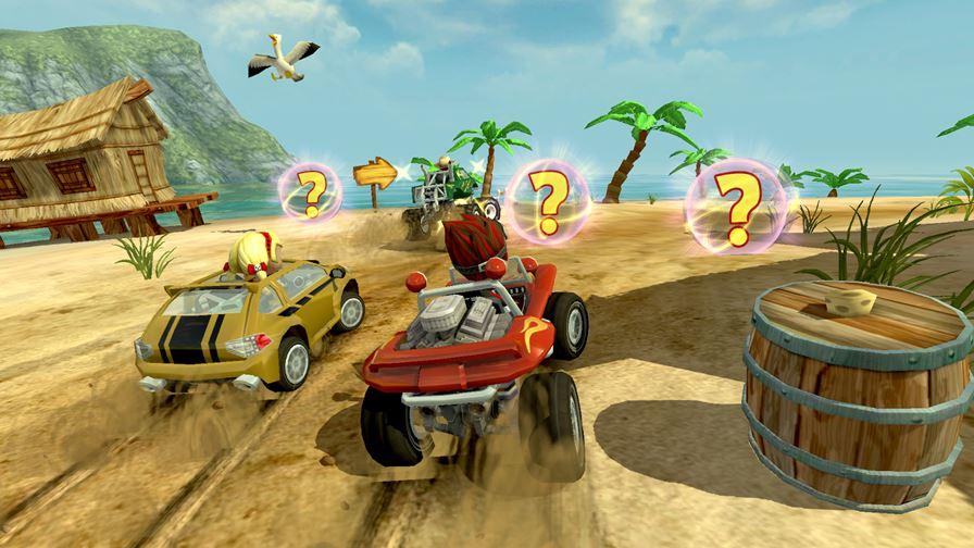 beach-buggy-racing 50 Jogos para Android compatíveis com Controle e Gamepad Bluetooth