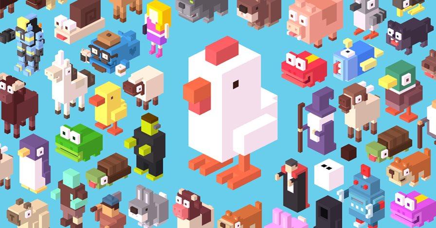 crossy-road-android Crossy Road: Jogo da galinha chega ao Android