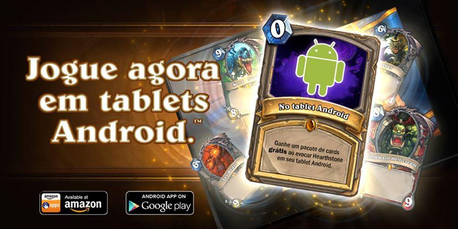 hearthstone-android Hearthstone: versão do Android já está disponível! Baixe Agora!