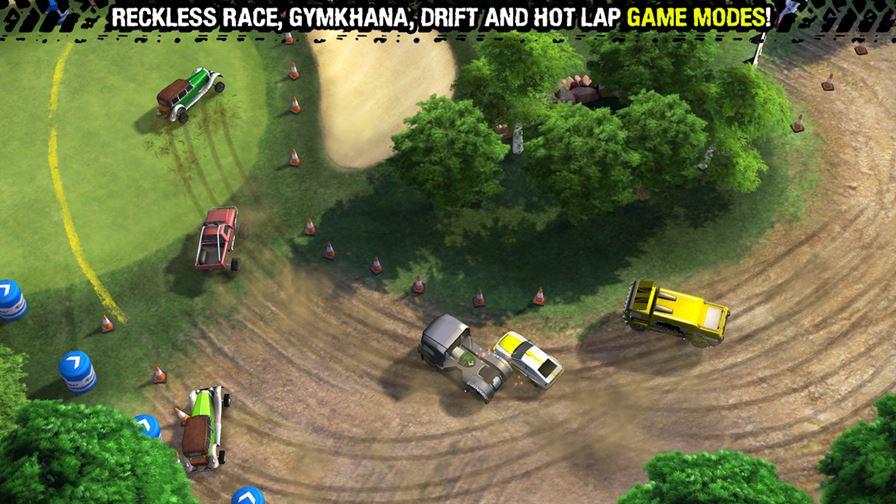 reckless-racing-3 Top 10 Melhores Jogos de Corrida para Android até 2014