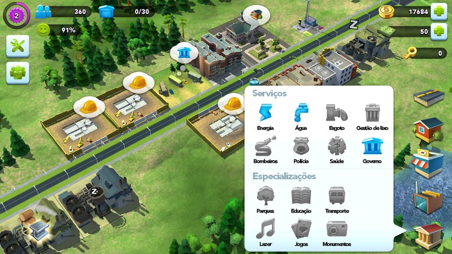 simcity-buildit-3 SimCity BuildIt: jogo de construção de cidades chega ao Android e iOS