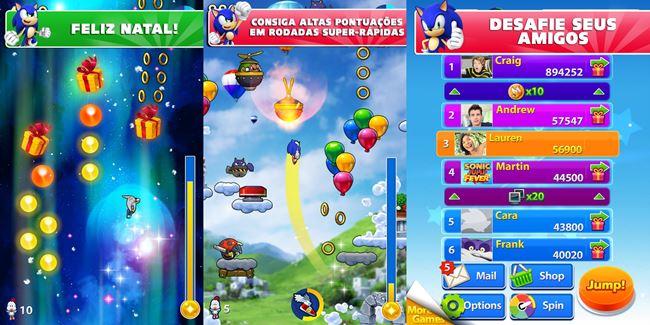 sonic-jump-fever 25 Jogos para Android Offline Para Você Baixar Grátis #2
