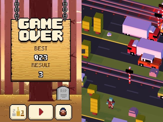 timberman-road-android Melhores Jogos para Celular de 2014 (Android, Java, iOS e Windows Phone)