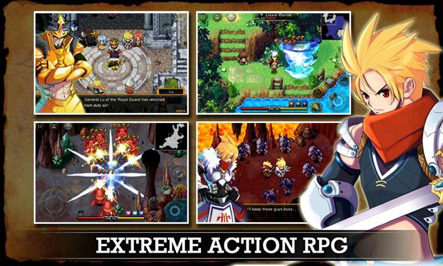 zenonia-4 Android: Top 10 Melhores Jogos de RPG (até 2014)