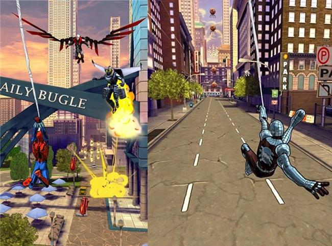 Homem-aranha-sem-limites-android-wp-ios-2 25 Melhores Jogos para Android Grátis - 2º Semestre de 2014