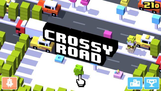 crossy-road-android 25 Melhores Jogos para Android Grátis - 1º Semestre de 2015