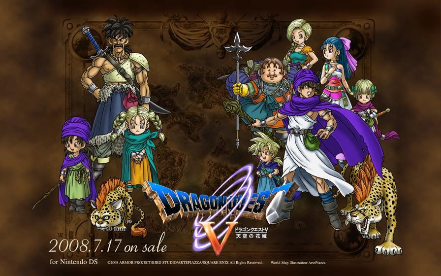 dragonquest_v_01_1920 Dragon Quest V: mais um clássico RPG para iOS e Android