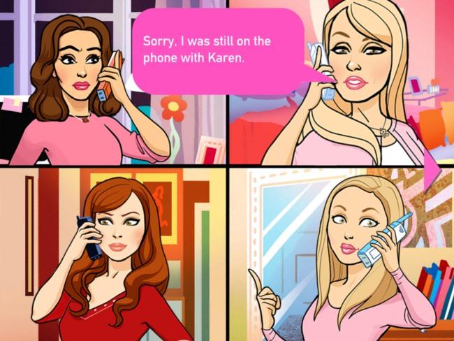 mean-girls-1 Filme 'Meninas Malvadas' terá um jogo para iPhone e iPad