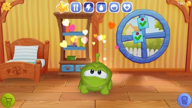 my_om_nom2 Melhores Jogos para iPhone e iPad da Semana #1 - 2015