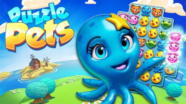 puzzle-petss Puzzle Pets é a nova aposta casual da Gameloft para Android, iOS e WP