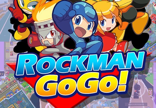 """rock-man-go-go Mega Man ganha jogo para Android no estilo """"Temple Run"""""""