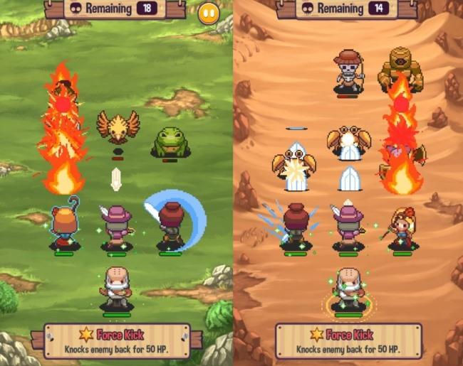 swap-heroes-2-1 Swap Heroes 2: RPG trará batalhas táticas em fevereiro no Android e iOS