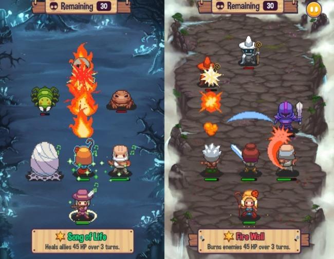 swap-heroes-2-2 Swap Heroes 2: RPG trará batalhas táticas em fevereiro no Android e iOS