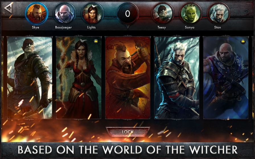 the-witcher-battle-arena-1 The Witcher Battle Arena chega ao Android e iOS gratuitamente