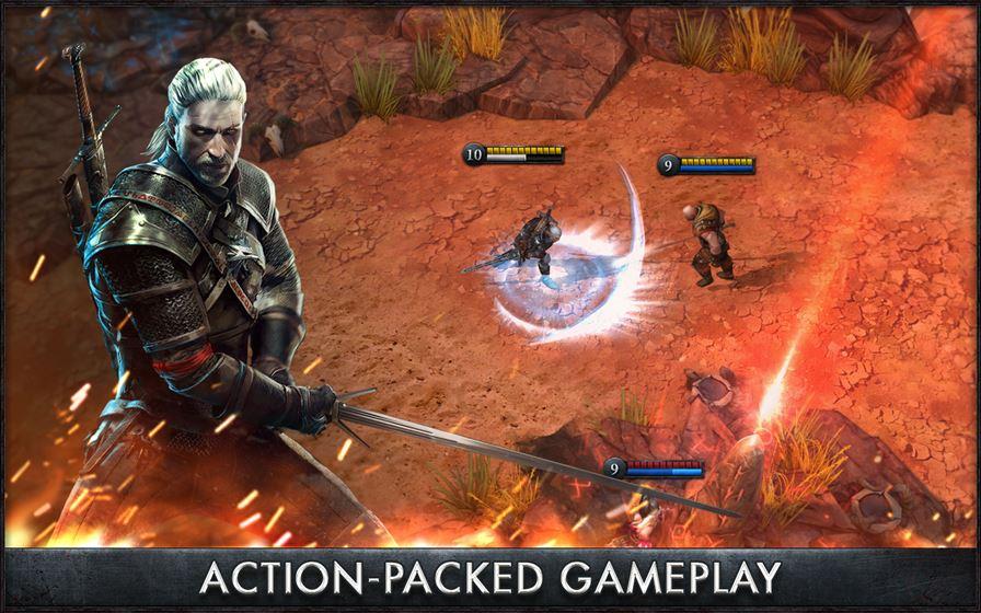 the-witcher-battle-arena The Witcher Battle Arena chega ao Android e iOS gratuitamente
