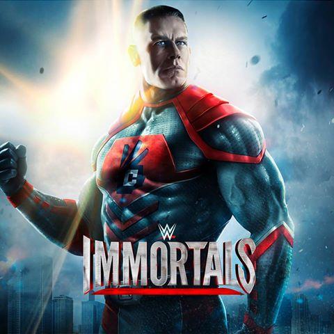 """wweicena Estrelas do """"telecatch"""" se tornam super-heróis em WWE Immortals (Android e iOS)"""