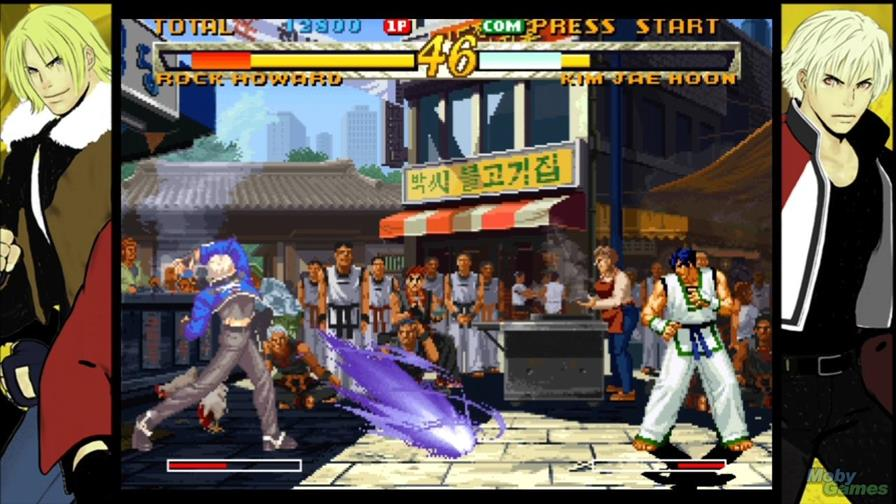 433108-garou-mark-of-the-wolves-xbox-360-screenshot-fighting-in-the KOF, Batman, Minecraft e mais: veja Jogos Android em Promoção