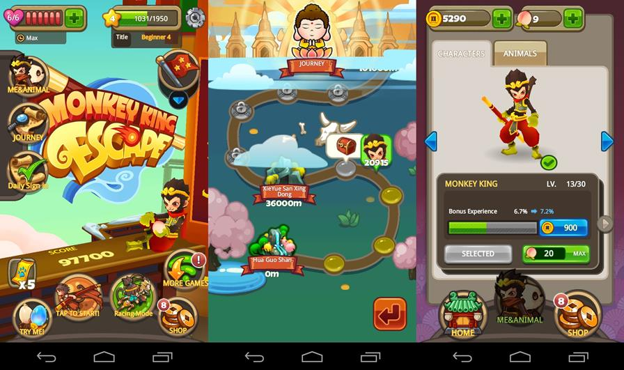 Monkey-King-Escape-1 Monkey King Escape: Novo Jogo Grátis da Ubisoft para Android e iOS