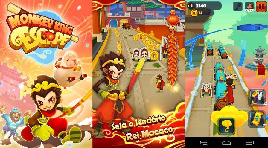 Monkey-King-Escape-2 Monkey King Escape: Novo Jogo Grátis da Ubisoft para Android e iOS