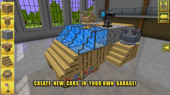 blocky-cars-android Melhores Jogos para Android da semana #5 - 2015
