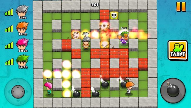 bomber-friends 25 Melhores Jogos para Android Grátis - 1º Semestre de 2015