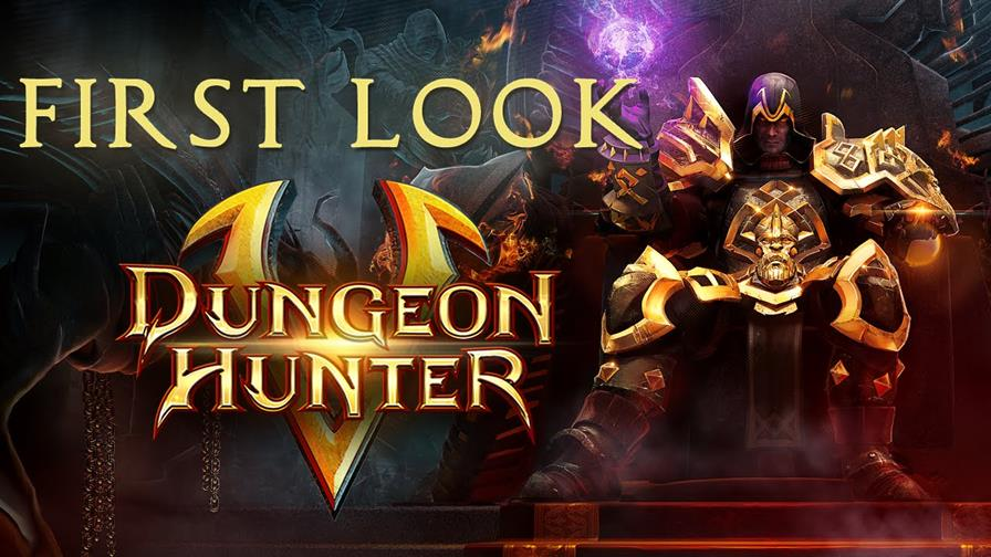 dungeon-hunter-5-android-ios-primeiro-gameplay Video: Gameplay em português do novo Dungeon Hunter 5