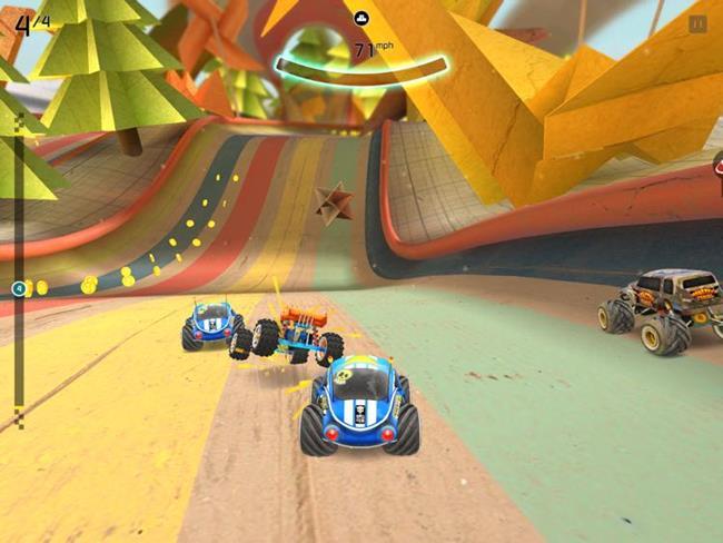 rocket-cars5 10 Melhores Jogos para iPhone e iPad grátis - Janeiro de 2015