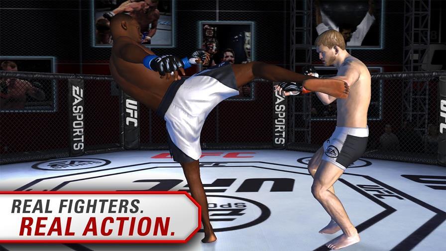 ufc-android UFC: EA lança o jogo de luta primeiro no Android
