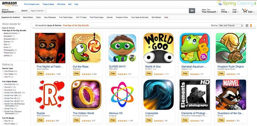 Amazon-Birthday Android: Jogos Pagos na Amazon estão de graça por tempo limitado
